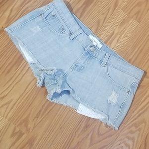 2.1 Denim jeans shorts 27
